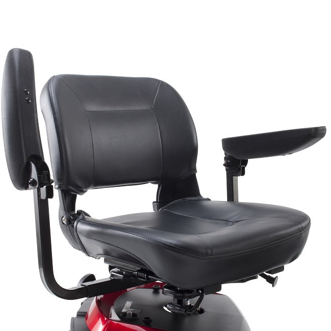 Drive Medical Ventura 4-Wheel Mobility Scooter folding armrests