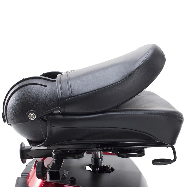 Drive Medical Ventura 4-Wheel Mobility Scooter fold down backrest