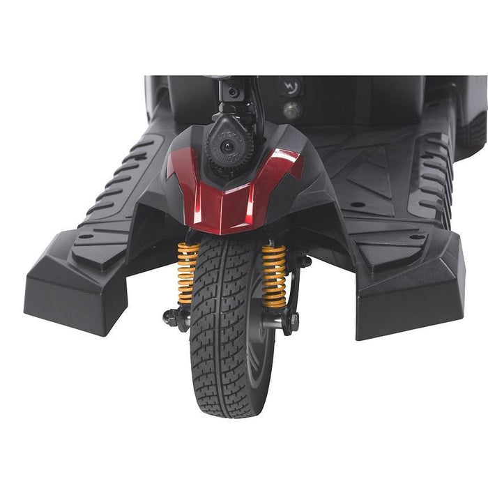 Drive Medical Spitfire DST 3-wheel travel scooter front suspension system