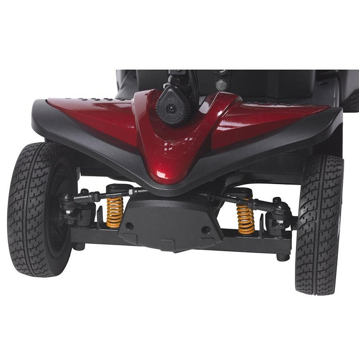 Drive Medical Spitfire DST 4-Wheel Travel Scooter rear suspension system