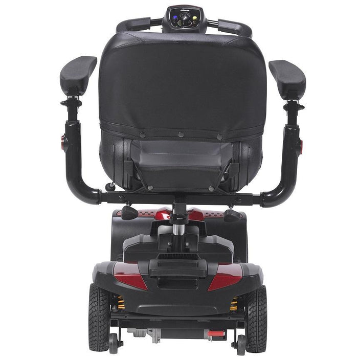 Drive Medical Spitfire DST 4-Wheel Travel Scooter rear view