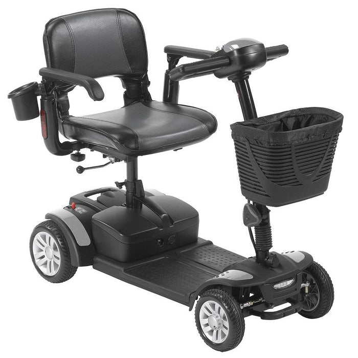 Drive Medical Spitfire EX2 4-Wheel Travel Scooter gray