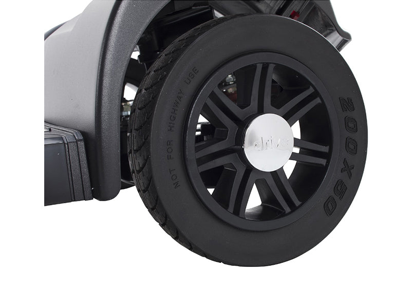 Spitfire Scout 4-Wheel Travel Scooter wheel
