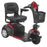 Drive Medical Ventura 3-Wheel Mobility Scooter red right angle view