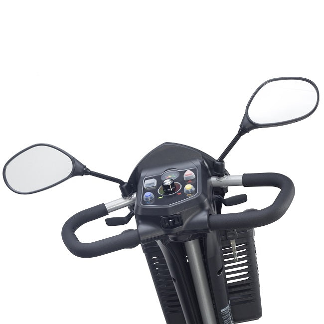 Drive Medical Ventura DLX 3-wheel mobility scooter control panel and delta tiller