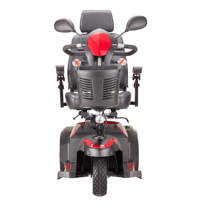 Drive Medical Ventura DLX 3-wheel mobility scooter front view