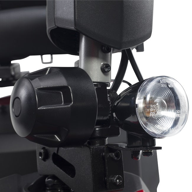 Drive Medical Ventura DLX 3-wheel mobility scooter bright headlight