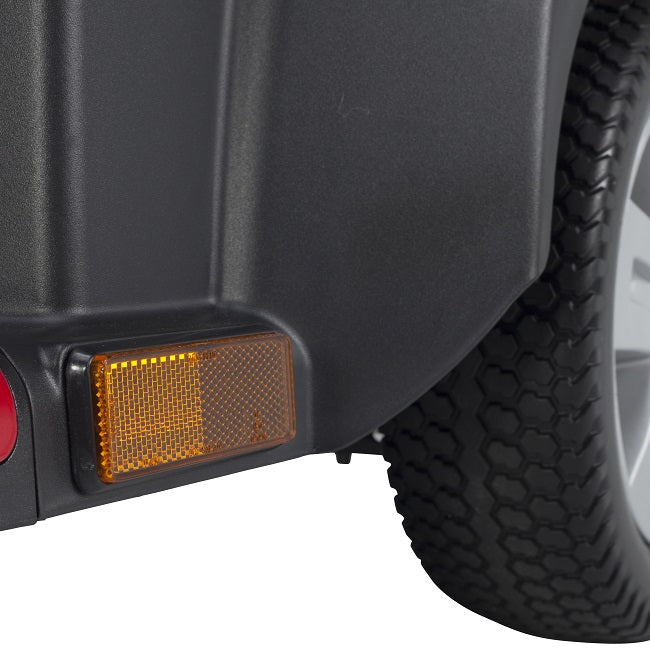 Drive Medical Ventura DLX 3-wheel mobility scooter side reflector and lights