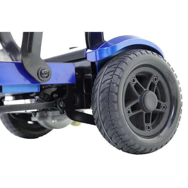 Drive Medical ZooMe Flex 4-Wheel Folding Mobility Scooter wheels