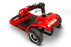 EWheels EW M34 4-Wheel 4-Wheel Travel Scooter red folded tiller