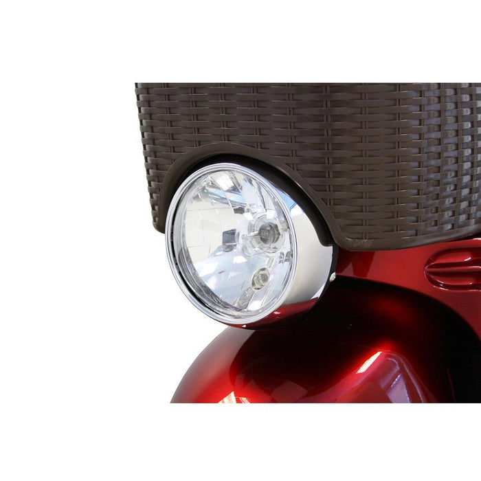 EWheels EW 11 Euro 3-Wheel Recreational Scooter bright headlight