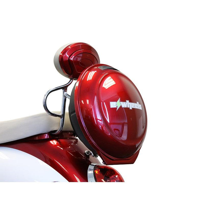 EWheels EW 11 Euro 3-Wheel Recreational Scooter red lockable cargo storage