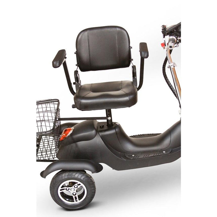 EWheels EW 19 Sporty 3-Wheel Recreational Scooter swivel stadium-style seat