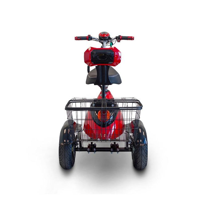 EWheels EW 19 Sporty 3-Wheel Recreational Scooter rear with spacious basket