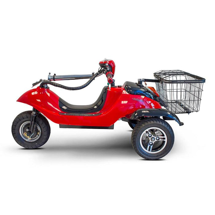 EWheels EW 19 Sporty 3-Wheel Recreational Scooter tiller folded and seat removed