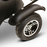 EWheels EW 20 Sporty 3-Wheel Recreational Scooter rear wheel
