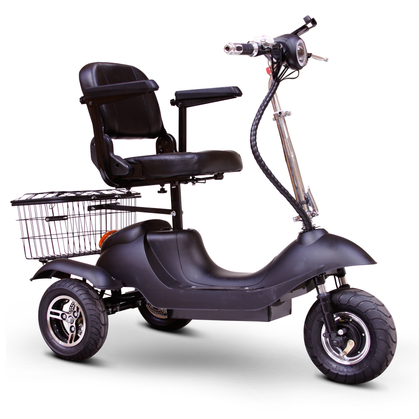 EWheels EW 20 Sporty 3-Wheel Recreational Scooter black