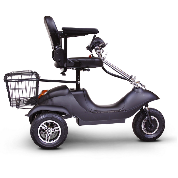 EWheels EW 20 Sporty 3-Wheel Recreational Scooter folded tiller