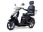 EW 36 3-Wheel Recreational Scooter silver and black color