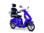 EW 36 3-Wheel Recreational Scooter blue