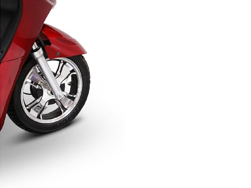 EW 36 3-Wheel Recreational Scooter front wheel