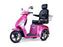 EW 36 3-Wheel Recreational Scooter pink