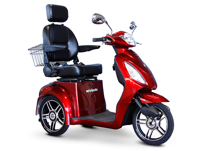 EW 36 3-Wheel Recreational Scooter red
