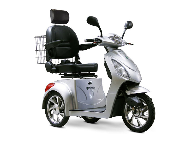 EW 36 3-Wheel Recreational Scooter silver