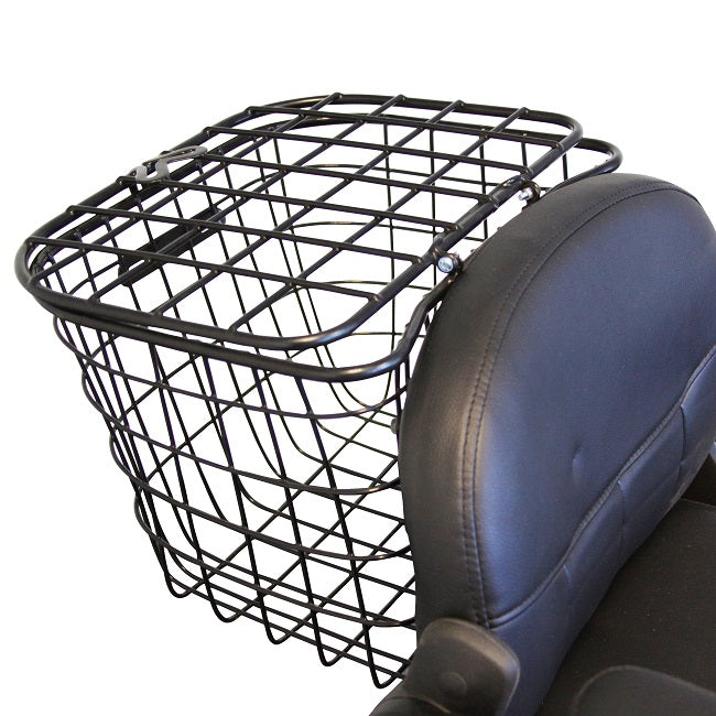 EWheels EW 66 2-Passenger Recreational Scooter rear basket with cover