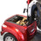 EWheels EW 66 2-Passenger Recreational Scooter red under-trunk compartment