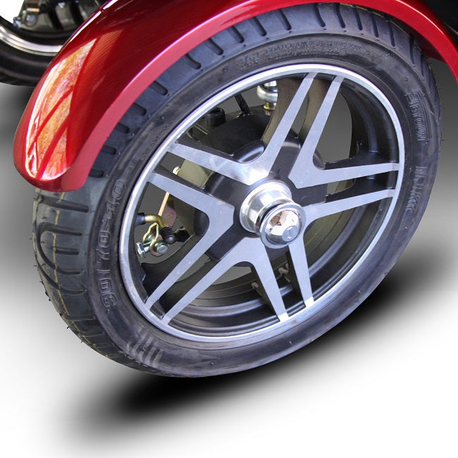 EWheels EW 72 4-wheel recreational scooter wheel
