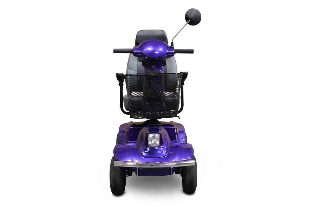 EWheels EW M91 4-Wheel Mobility Scooter blue front view