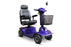 EWheels EW M91 4-Wheel Mobility Scooter blue right angle view