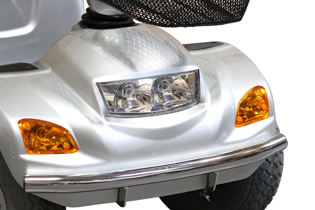 EW M93 4-Wheel Heavy-Duty Mobility Scooter headlight and signal lights