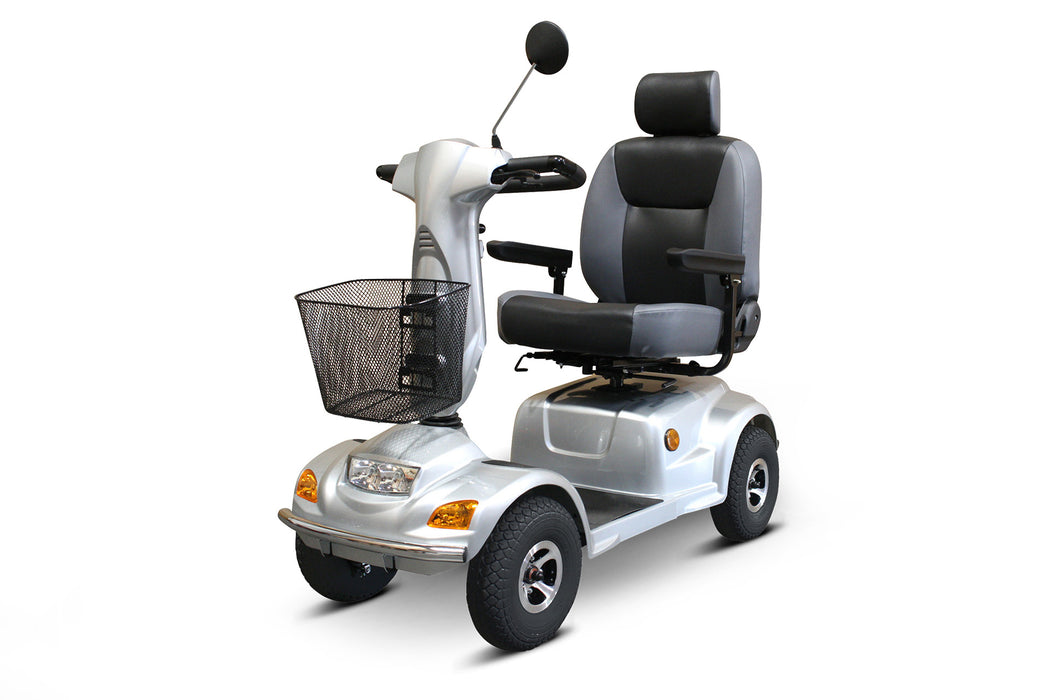 EW M93 4-Wheel Heavy-Duty Mobility Scooter left angle view