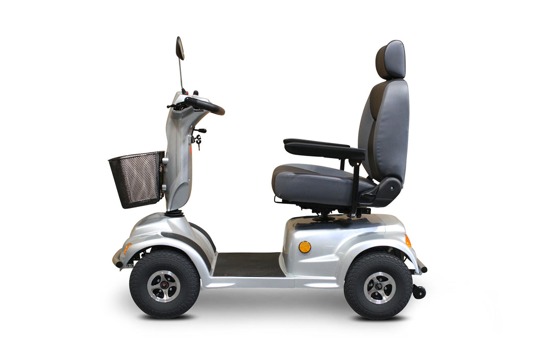 EW M93 4-Wheel Heavy-Duty Mobility Scooter left side view