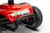 EWheels EW M34 4-Wheel 4-Wheel Travel Scooter red heavy-duty bumper