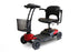 EWheels EW M35 4-Wheel Travel Scooter left angle view
