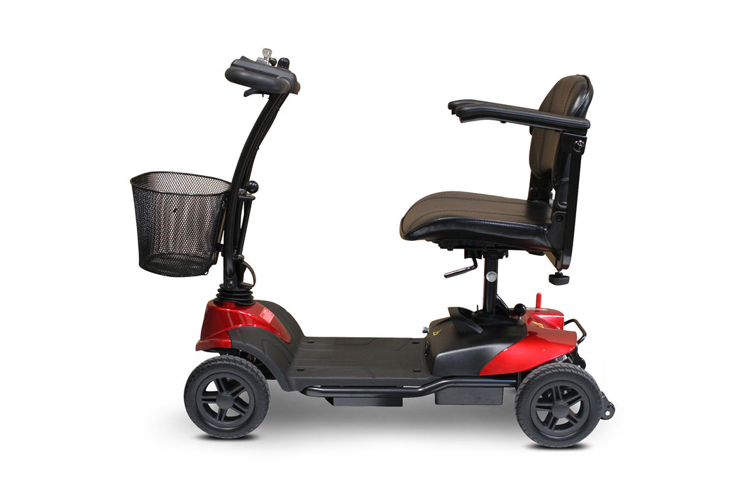 EWheels EW M35 4-Wheel Travel Scooter left side view