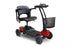 EWheels EW M35 4-Wheel Travel Scooter right angle view