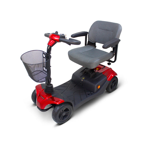 EWheels EW M41 4-Wheel Travel Scooter red