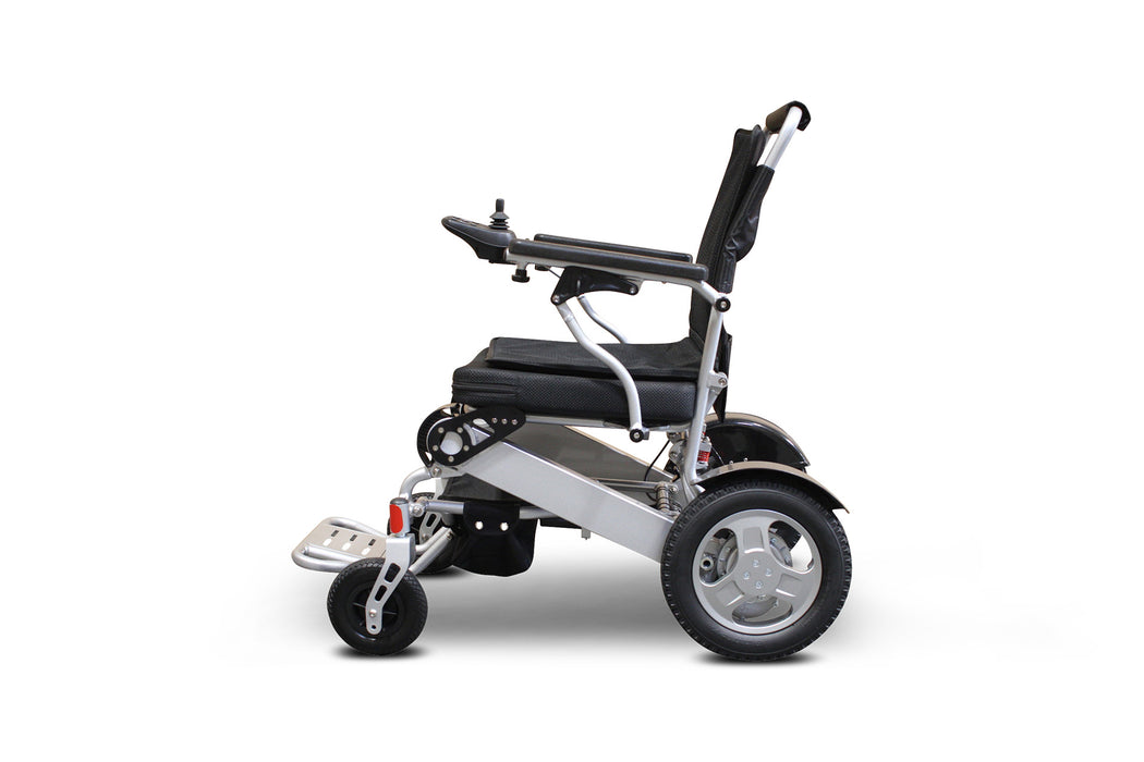 Ewheels EW M45 Folding Power Chair left side view