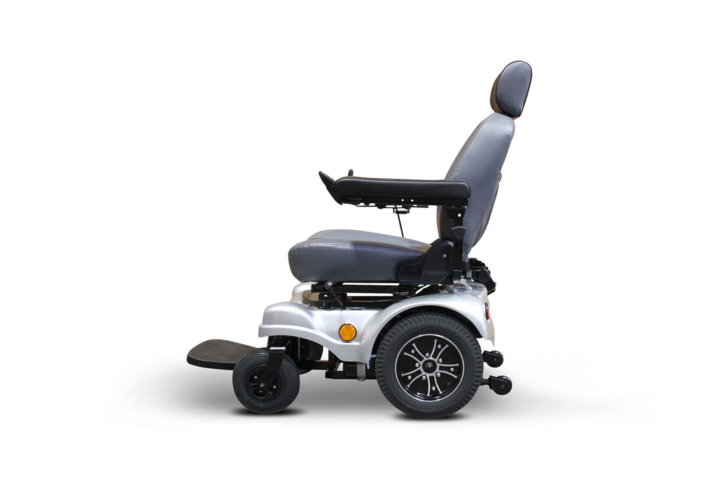 EWheels EW M83 4-Wheel Power Chair left side view