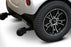 EWheels EW M83 4-Wheel Power Chair anti-tip wheels