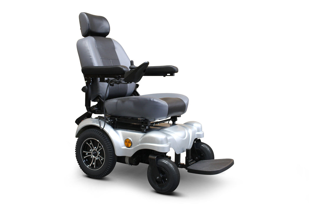 EWheels EW M83 4-Wheel Power Chair right angle view