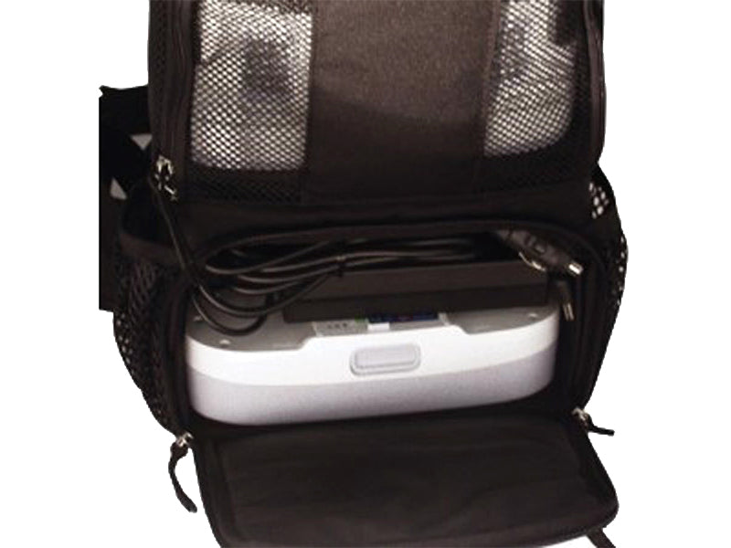 Inogen One G3 backpack lower pocket