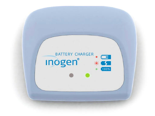 Inogen One G4 external battery charger front view
