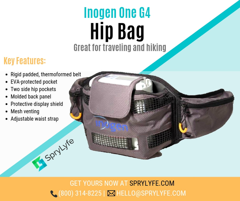 Inogen One G4 Hip Bag brochure