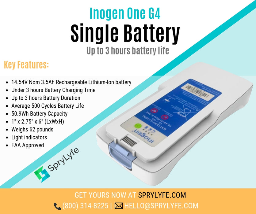 Inogen One G4 Single Battery