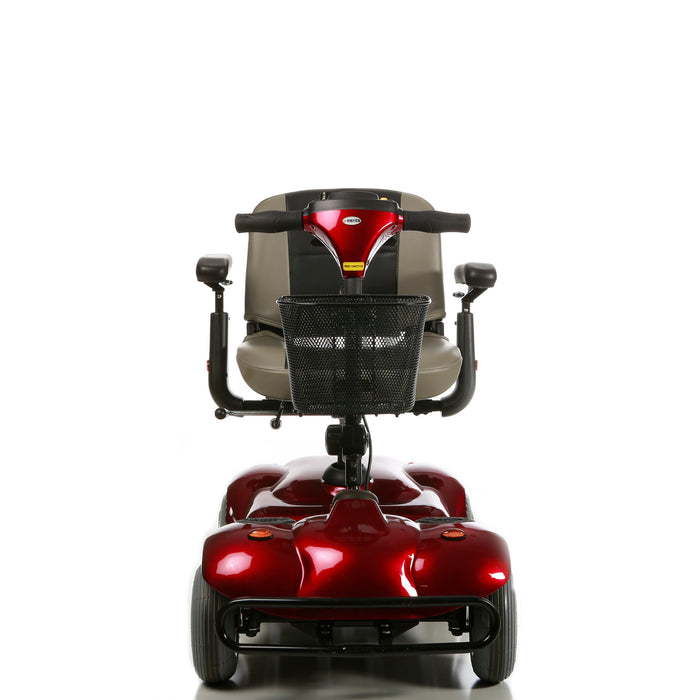 Merits Health S245 Pioneer 2 4-Wheel Travel Scooter front view